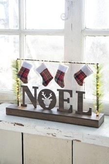 Lit Noel Room Decoration