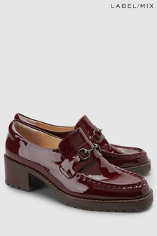 Mix/E8 Patent Leather Dana Loafer