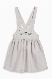 Bunny Face Pinafore (3mths-6yrs)