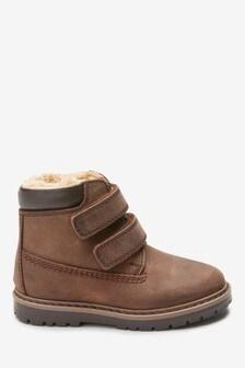 Usnjeni delovni čevlji z dvema ježkoma (Mlajši)