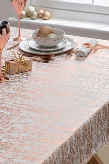 Metallic Foil Tablecloth