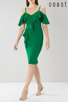 Coast Green Dustin Shift Dress