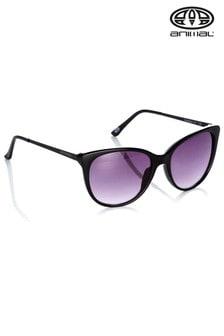 Animal Black Radiance II Oversized Sunglasses