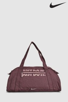 Nike Burgundy Womens Gym Training Duffle Bag