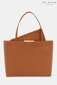 Ted Baker Caullie Tan Leather Shopper Bag