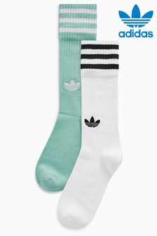 adidas Originals Mint Green Socks 2 Pack