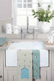 Sophie Allport Bees Set of 2 Tea Towels