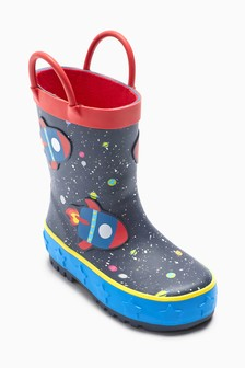 Rocket Space Wellies (Younger)