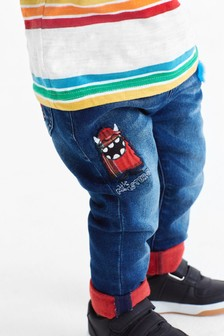 Pull-On Monster Jeans (3mths-7yrs)