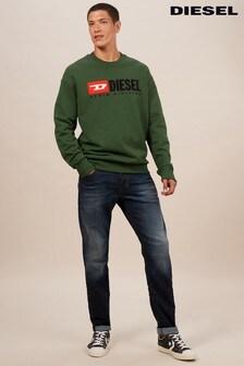 Diesel Dark Wash 69BM Larkee Beex Regular Tapered Fit Jean