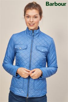 Barbour® Blue Formby Quilted Jacket
