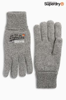 Superdry Logo Knitted Glove