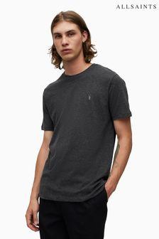 AllSaints Charcoal Brace T-Shirt