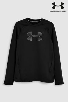 Under Armour Black Long Sleeved Base Layer