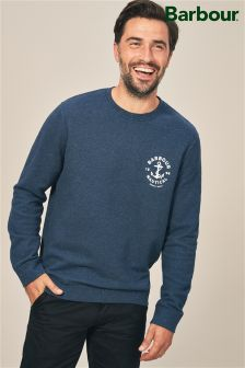 Barbour® Blue Cobra Crew Sweat
