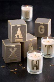 Lemon & Bergamot Alphabet Candle