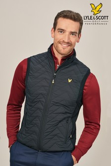 Lyle & Scott Golf Innes Padded Gilet