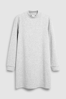Платье в рубчик (3-16 лет)