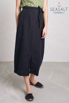 Seasalt Dark Night Pencil Lead Skirt