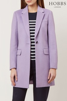 Hobbs Purple Tia Coat