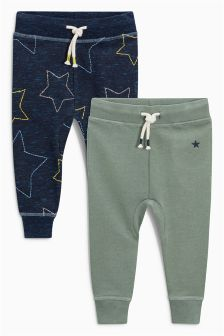 Star Joggers Two Pack (3mths-6yrs)