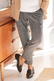 Maternity Over The Bump Taper Trousers