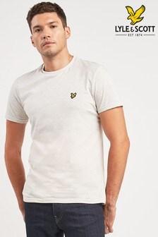 T-shirt Lyle & Scott blanc multicolore