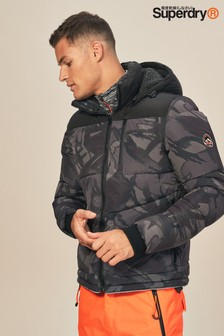 Superdry Camo Print Expedition Coat