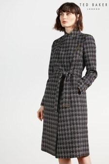 Ted Baker Griffyn Mid Length Bouclé Coat