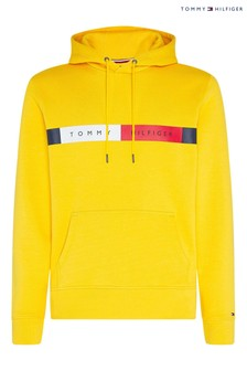 Tommy Hilfiger Yellow Flag Logo Hoody
