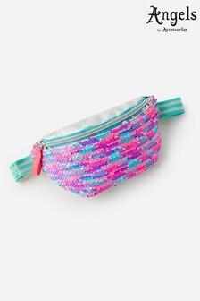 Angels By Accessorize Pink Sequin Belt Bag