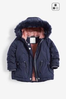 Shower Resistant Parka Coat (3mths-7yrs)