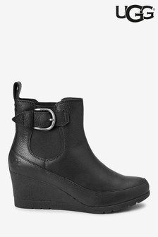 UGG® Arleta Wedge Buckle Ankle Boots