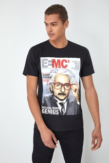 Einstein Grafik-T-Shirt