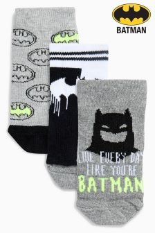 Batman® Socks Three Pack (Younger)