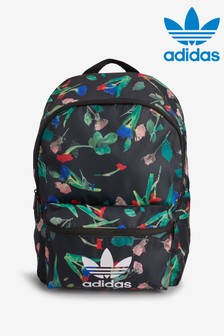 adidas Originals Black Floral Backpack
