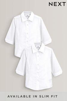 Bluse mit Dreiviertelärmeln, 2er-Pack (3-16yrs)