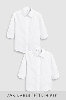 Набор блузок с рукавами 3/4 (2 шт.) (3-16 лет)