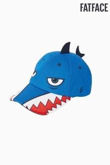 FatFace Blue Shark Creature Cap