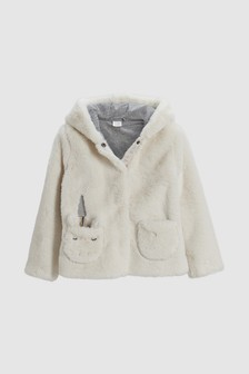 Unicorn Faux Fur Jacket (3-16yrs)