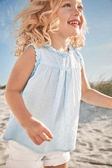 Sleeveless Collar Blouse (3mths-7yrs)