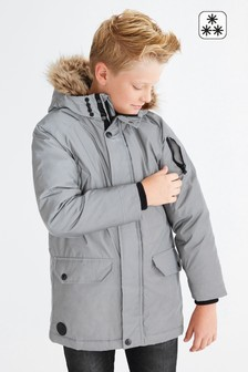 Куртка-парка со светоотражающими элементами (3-16 лет)