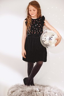 Velvet Gem Dress (3-16yrs)