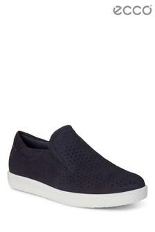 Ecco® Blue Slip-On Shoe