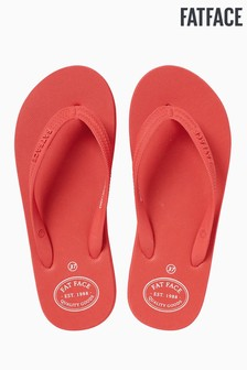 FatFace Orange Portloe Flip Flop