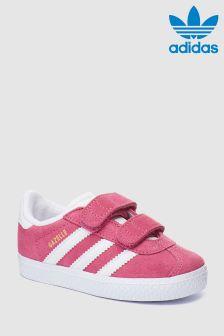 adidas Originals Pink Gazelle Velcro