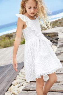 Frill Lace Dress (3-16yrs)