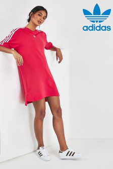 adidas Originals Pink 3 Stripe Dress