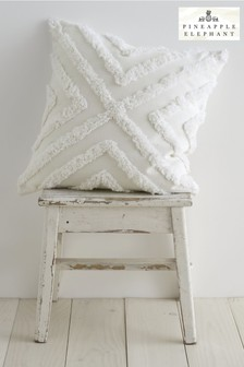 Diamond Tufted Cushion by Pineapple Elephant
