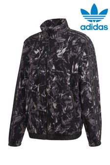 adidas Originals Black Polar Fleece Zip Through Jacket